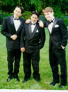 The 3 Amigos at Prom!