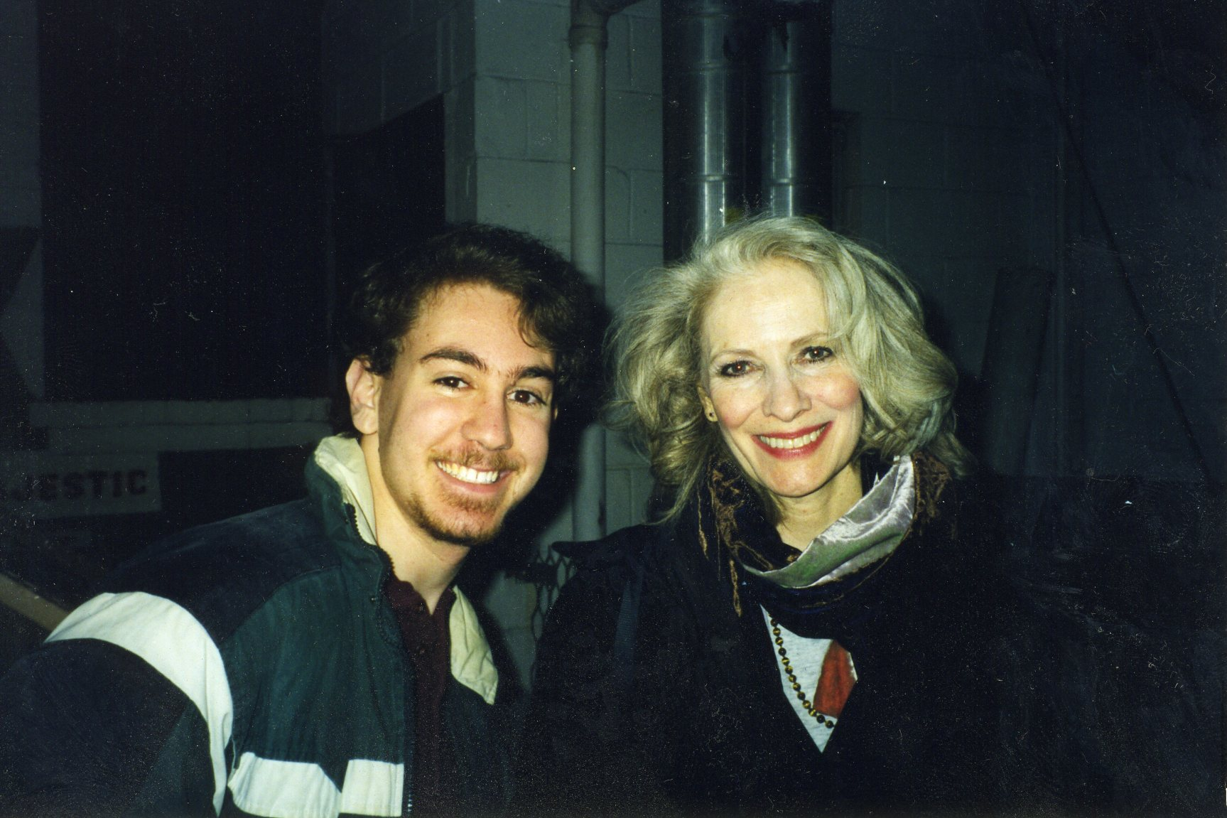 Me and Betty Buckley
