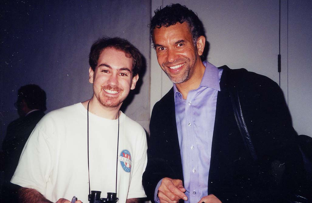 Me and Brian Stokes Mitchell!