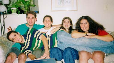 Summer Clique '98 (Me, Josepha, Jodi, Matt and Andrea)