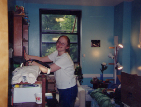 Dawn Prepares Her New Room!