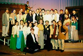 Cast of Fiddler on the Roof Which I Directed!
