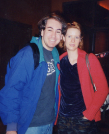 Me and Cynthia Nixon After The Women!