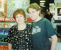 Judy Kaye and Me After Her Concert at Tower Records!