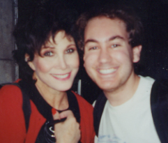 Me and Michele Lee after Tale of the Allerghist's Wife!