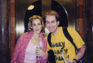 Me and Sarah Jessica Parker After Wonder of the World!