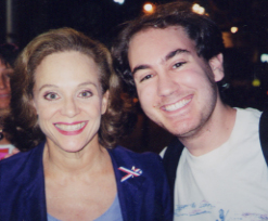 Me and Valerie Harper After Tale of the Allerghists' Wife!