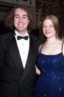 Melinda and Me at the Senior Ball!