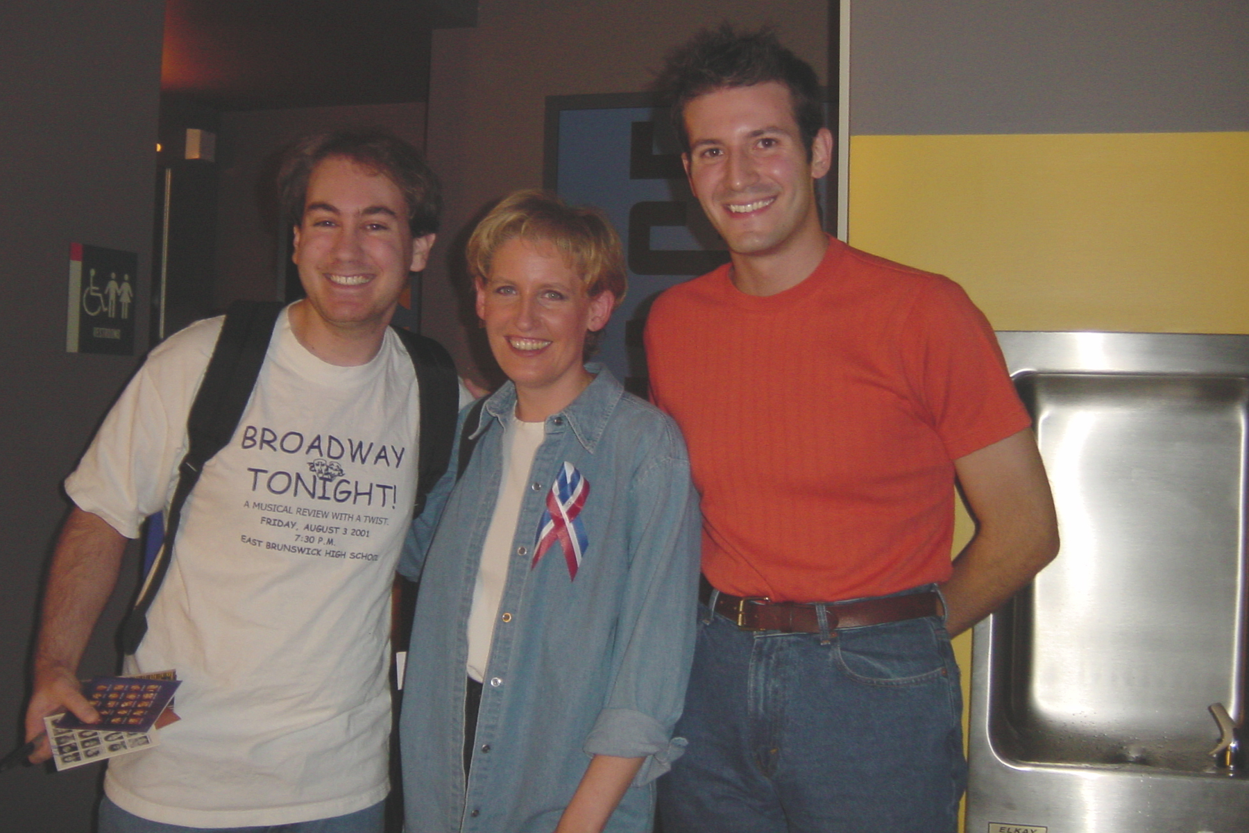 Craig and Me with Liz Callaway After The Spitfire Grill!